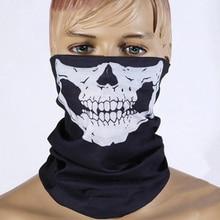 Мотоциклетная маска для лица, шлем для мотоцикла, спортивная повязка на голову, велосипедная Балаклава, бандана с черепом, мотоциклетный шарф, головной убор, маска