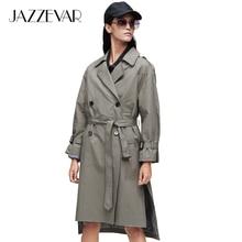JAZZEVAR 2019 New arrival autumn trench coat women clothing