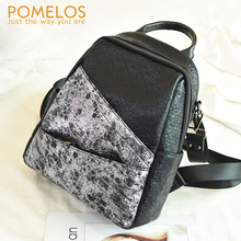 POMELOS 2019 Fashion Backpack Women Bagpack Backpacks High Quality Synthetic Leather Back Pack Practical Woman Girls Backpack feral cat korean backpack high quality women fashion youth backpacks new bagpack girls back pack rucksack woman shoulder bags