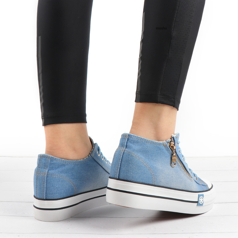Casual Vulcanize Comfy Canvas Women Sneakers