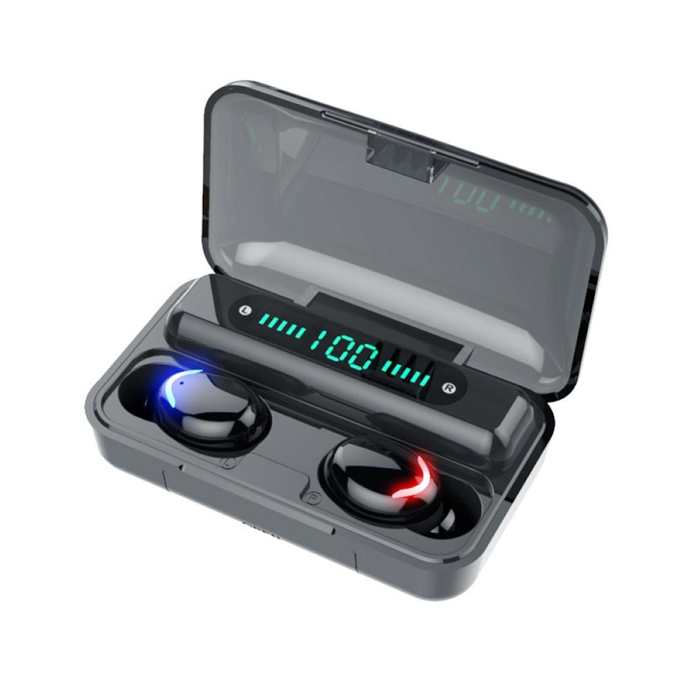 TWS Bluetooth Earphone V5 0 9D Stereo Wireless Headphones Sport Waterproof Earphones Mini True Wireless Earbuds for cellphone