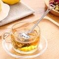 Herz Form Edelstahl Tee Sieb Teelöffel Infuser Löffel 4*14cm