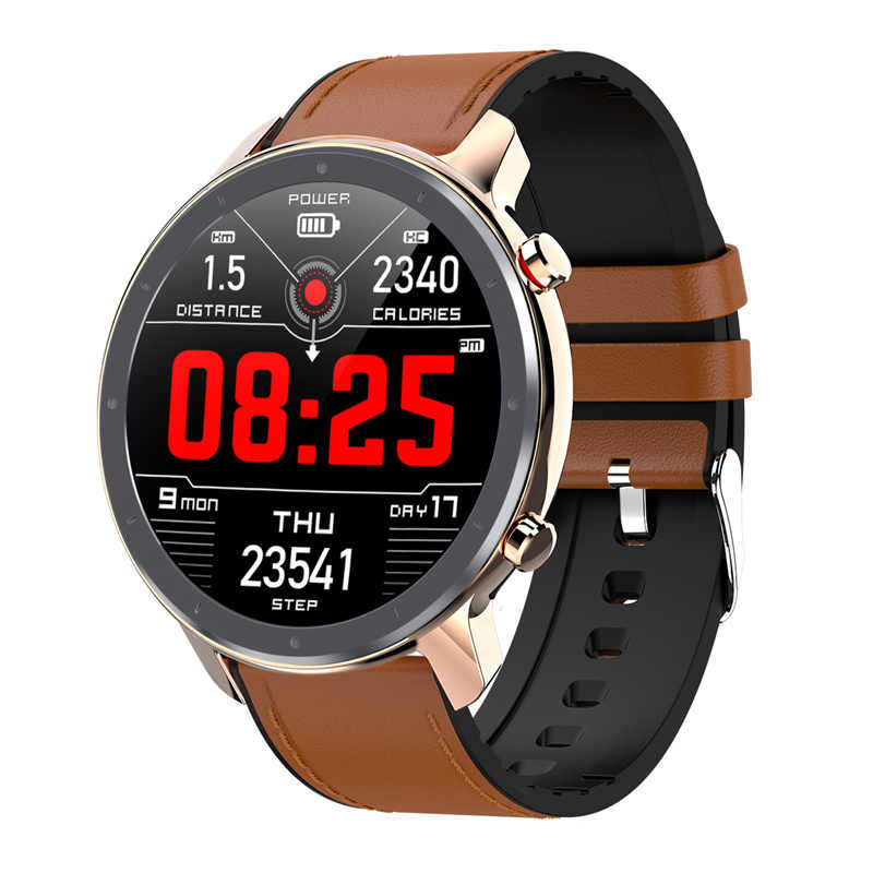 2020 L11 Smart Watch Pria EKG Monitor Detak Jantung Tekanan Darah Oksigen Ruput Multi Mode Sports Kebugaran Tracker Vs l9 Smartwatch