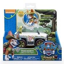 2019 NEW Genuine Paw Patrol Toy Car Set Skye's High Flyin Copter Everest Tracker Cartoon Action Figure Model children toy