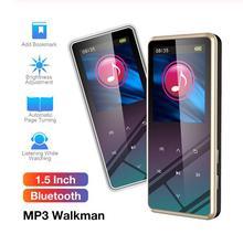 цена на 8GB/16GB/32GB M12 1.5 Inch MP3 Player LCD Display Bluetooth V4.2 800ma Battery MP3 Mini MP3 Lossless HIFI Music Video Player