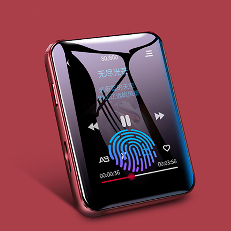 Original benjie x1 mp4 player Bluetooth 5.0 built-in speaker full screen touch radio recording e-book picture video playback image