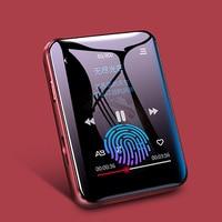 Benjie-reproductor mp4 x1 Original con Bluetooth 5,0, altavoz incorporado, Pantalla Completa, radio táctil, grabación, e-book, reproducción de imágenes y vídeo