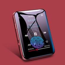 Original benjie x1 mp4 player bluetooth 5.0 built-in alto-falante tela cheia de gravação de rádio de toque e-book reprodução de vídeo de imagem