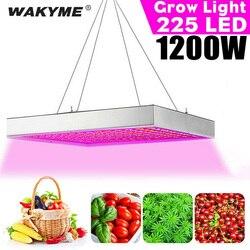 WAKYME светодиодный светильник для выращивания растений, 1200 Вт, светодиодный светильник полного спектра для выращивания растений