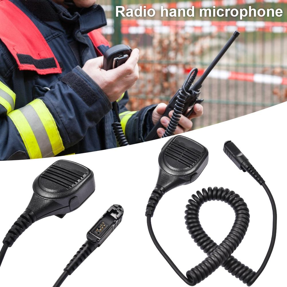 XPR3300 Hand Microphone Remote Radio Microphones For Two-way Radio Model Walkie Talkie Accessaries