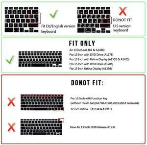 Image 5 - Чехол для клавиатуры Macbook Air 13 с русскими буквами, силиконовый защитный чехол для Mac Book Pro 13 15 Magic 1st Gen