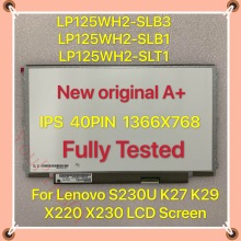 Lcd-Screen Laptop 40PIN Ips-Display X230 S230U LP125WH2-SLT1 1366X768 LENOVO K29x220