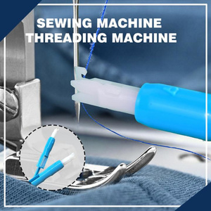 New Needle Threader Insertion Applicator Handle Thread Machine Sewing Tool for Drop Shipping Sewing Machine Accessories(China)