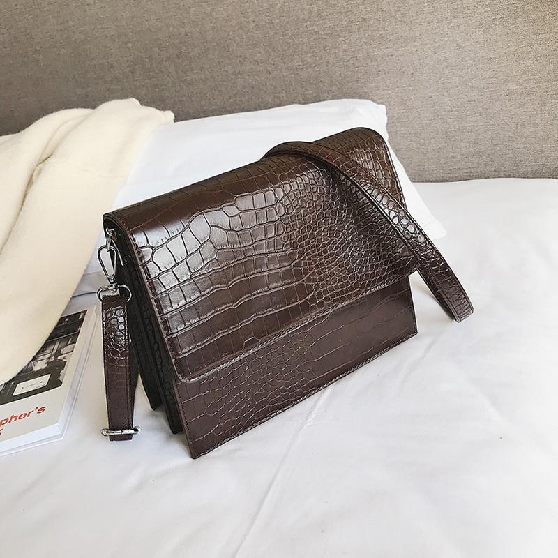 Малки ретро ретро женски чанти през - Дамски чанти - Снимка 3