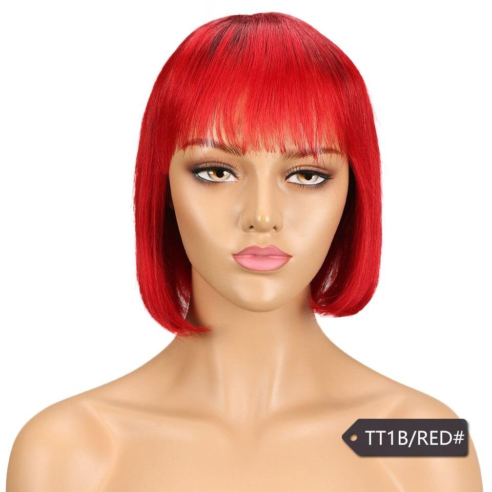 de cabelo humano para preto feminino marrom ombre vermelho azul