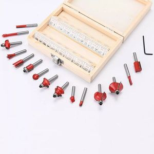 Image 3 - Milling Cutter machine 15pcs/set  1/4/ 8mm Shank Carbide Router Bit Wood Milling Saw Cutter All Purpose Tungsten Carbide Route