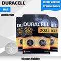 6 шт., Литиевые Батарейки для часов DURACELL CR2032, 3 в