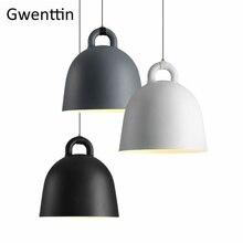 Denemarken Normann Bel Hanger Lamp Led Moderne Hanglamp Hars Verlichtingsarmaturen Gor Woonkamer Loft Industriële Decor Thuis Armatuur