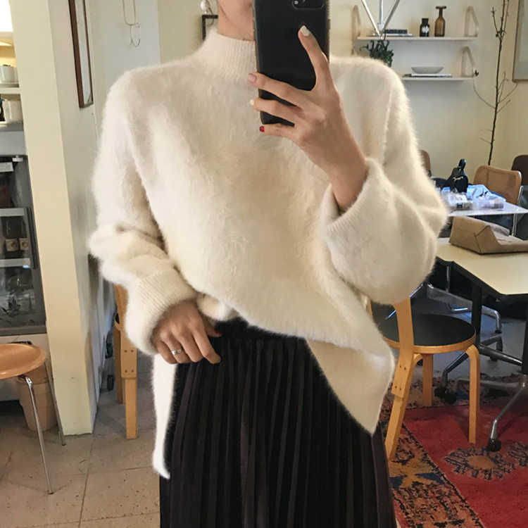 Colorfaith, женские свитера, Осень-зима 2019, водолазка, корейский стиль, модный, теплый, Повседневный, Minimalis, женские пуловеры, SW3091