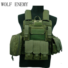 Tactical-Vest CIRAS Paintball Wargame Airsoft Triple-Magazine-Pouch MOLLE ACU/WOODLAND