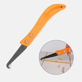 Limpieza y eliminación profesional de rejillas de acero de tungsteno antiguo herramienta de muescas herramienta colador herramienta de reparación de huecos de azulejos cuchillo de gancho