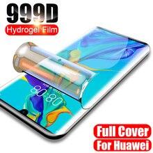 Защитная Гидрогелевая пленка 100D для Huawei P10 Lite P20 P30 Pro, Защитная пленка для экрана Huawei Mate 10 20 Pro, не стекло