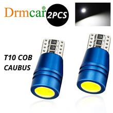 2PCS T10 w5w Led 168 194 Car LED Canbus Free No Error Cob Chip Replacement Bulbs License Plate Lights Parking Side Signal Lights 2pcs white t10 wedge light 194 168 6w cob led car canbus no error side signal lamp bulb auto reading number plate lights