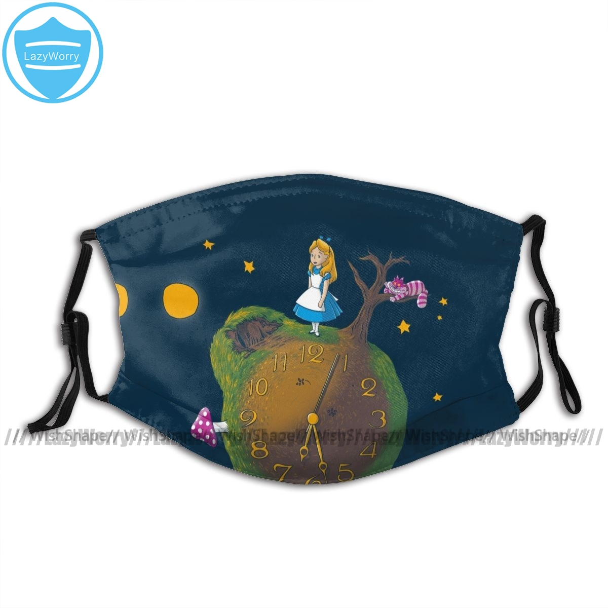 The Little Prince Mouth Face Mask The Little Alice Facial Mask Cool Fashion With 2 Filters For Adult