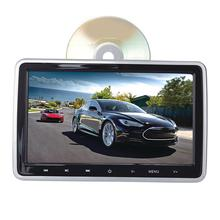 10.1 Inch Car video Player Headrest Bluetooth FM Touch Key Remote Control support 1080P and MP4 video formats DVD Player Monitor