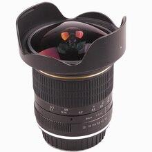 Lightdow 8mm F/3.0 asferyczny okrągły obiektyw aparatu bardzo szeroki obiektyw typu rybie oko obiektyw do modeli canon DSLR 550D 650D 750D 77D 80D 1100D kamery