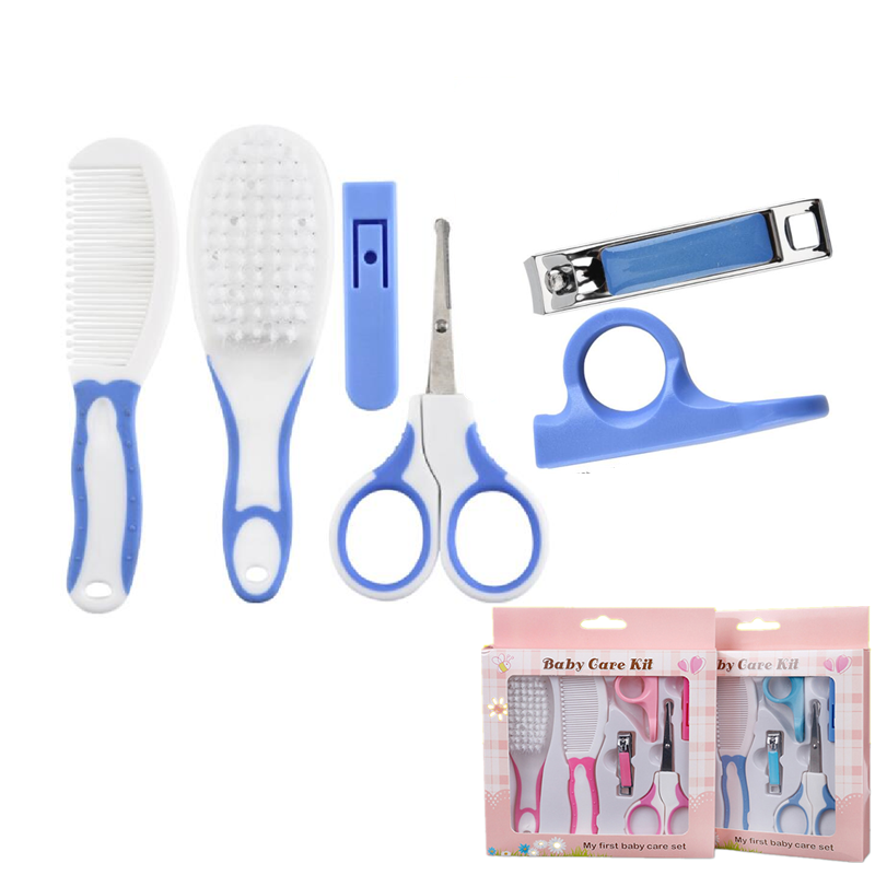 Hot Sale Baby Kids Toddler Healthcare Kits Grooming Care Nail Hair Care Set High Quality Nail Clipper Hair Comb Nail Scissor