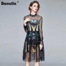 Женское платье средней длины merchall элегантное винтажное в