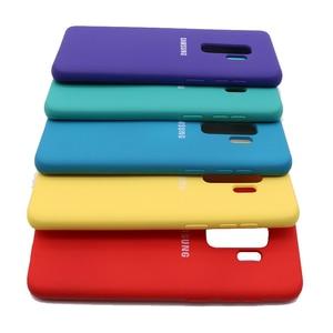 Высококачественный жидкий силиконовый чехол для Samsung Galaxy S9 Plus, шелковистая мягкая на ощупь задняя крышка для Galaxy S 9/S9 Plus/S9 + чехол для телефона|Бамперы|   | АлиЭкспресс