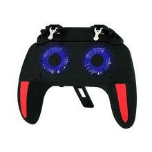 Gamepad dla kontrolera PUBG podwójny wentylator 2500/5000mAh Power Bank kontroler do gier joystick android ios telefon komórkowy Gamepad