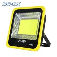 110V 220V LED światło halogenowe 20W 30W 50W 100W 150W 200W COB reflektor IP65 wodoodporna Ultra jasność punktowe reflektory LED lampa zewnętrzna w Reflektory od Lampy i oświetlenie na