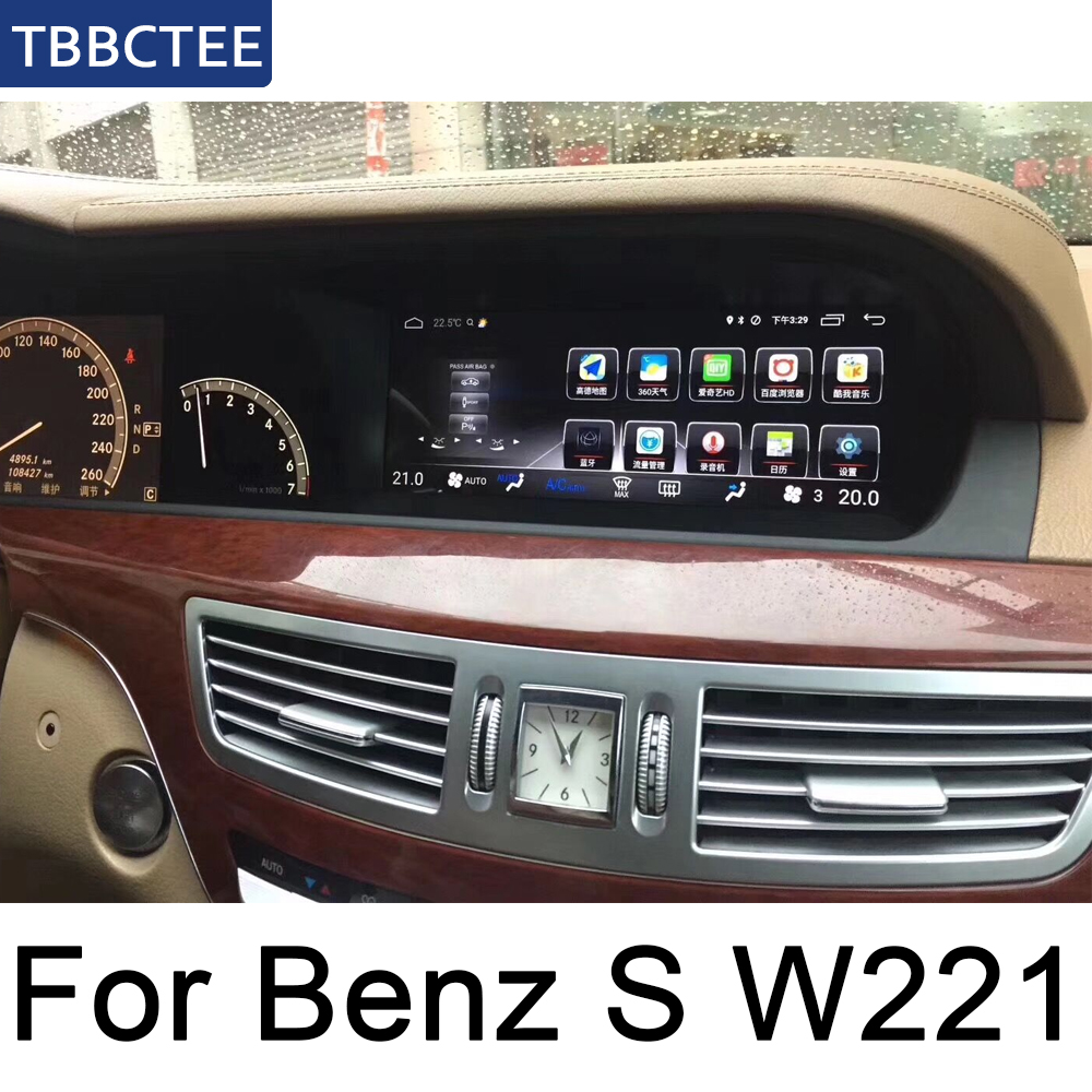<font><b>for</b></font> MB S Class S350 S400 S500 <font><b>S600</b></font> 2010~2013 NTG Car Android screen <font><b>GPS</b></font> Navigation radio stereo head unit multimedia player image