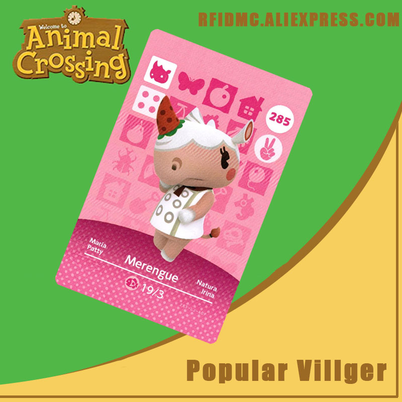 285 Merengue Animal Crossing Card Amiibo For New Horizons