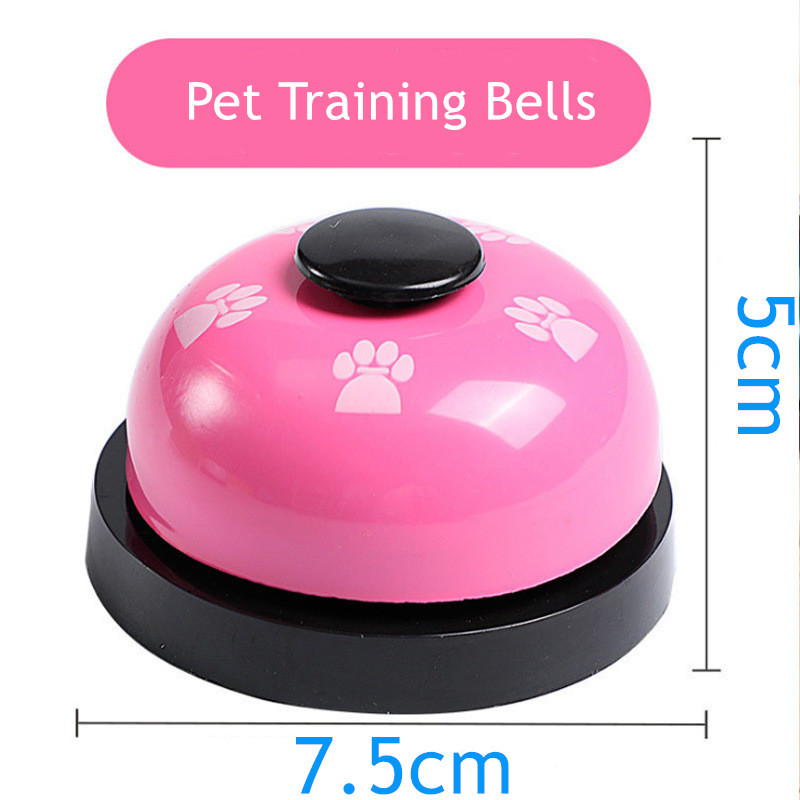 Creative Pet Bell Supplies Pet Training Bells Cat Dog Interactive Toys Dogs Training Toys High Quality Dog Training Equipment-2