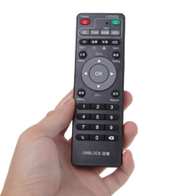 1pcs New Universal Set Top Box Learning Remote Control For Unblock Tech Ubox Smart TV Box Gen 1/2/3 Learning Copy Infrared IR