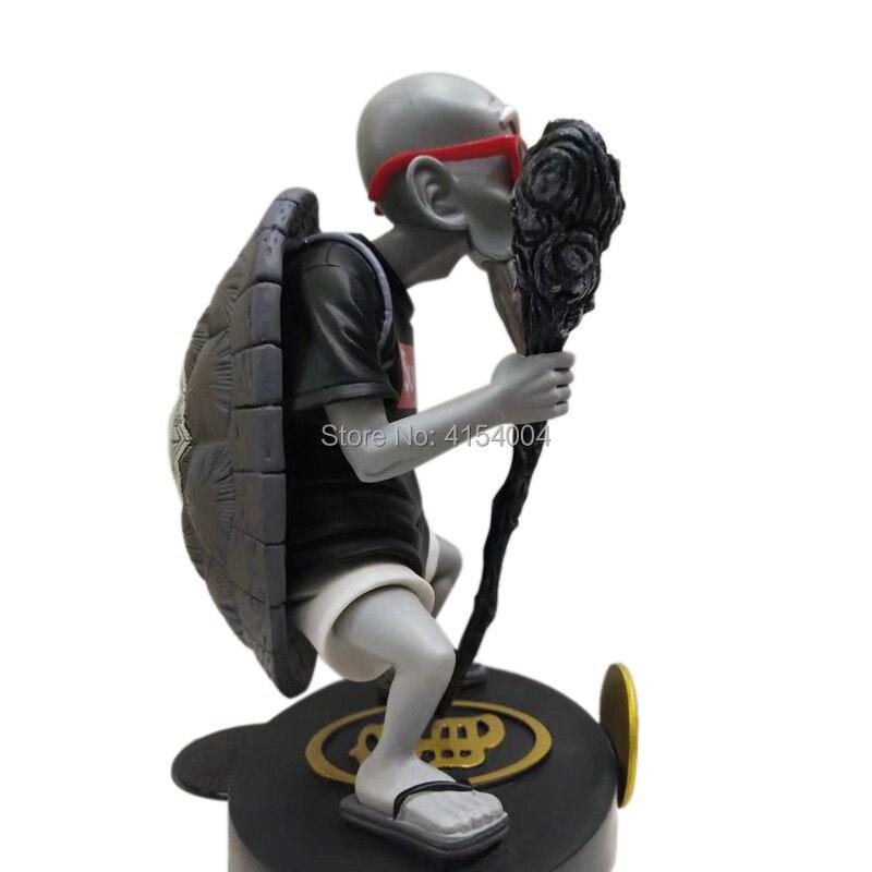 Image 5 - Animation Dragon Ball Z Kame Sennin Gold Plating Master Roshi Resin Scenes Statue Action Figure Collection Model ToyAction & Toy Figures   -