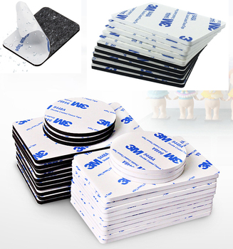 Super Strong 3M Double Sided Adhesive Foam Tape Mounting Fixing Pad Self Adhesive Dots Two Sides Mounting Sticky Tape 10-100pcs 10 100pcs square strong adhesive tape double sided adhesive acrylic foam tape double sided adhesive multi size eva foam adhesive