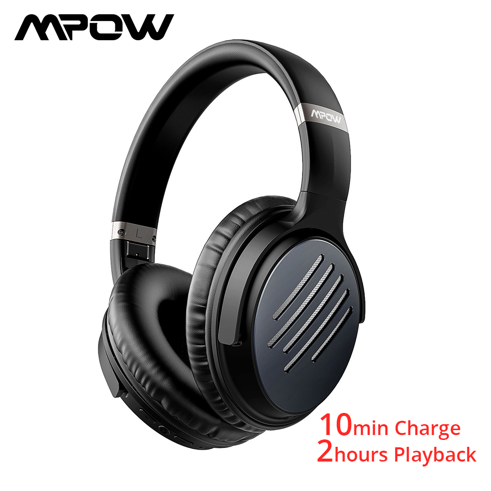 Mpow H16 Wireless Headphones ANC Bluetooth Headphone Active Noise Cancelling Headset With Microphone 30H Play Time For iPhone 11