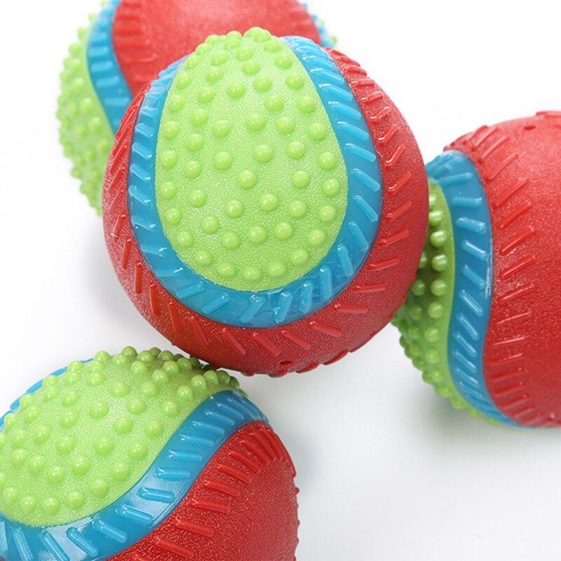 Rindfleisch Geschmack Für Hund Zu Release Stress Interaktive Gummi Ball Spielzeug Pet Quietschende Kauen Spielzeug Pet Liefert - 6