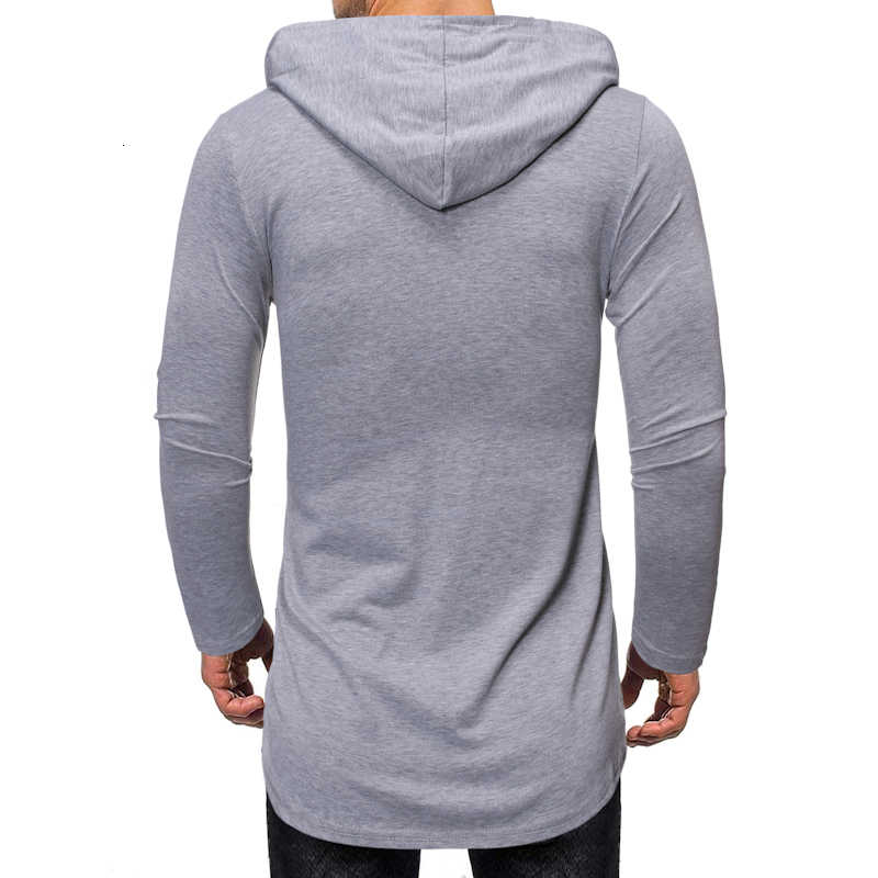 2019 nuevos hombres otoño Slim Fit chaqueta con capucha chaquetas hombre Color sólido manga larga sudaderas con capucha capa M-2XL