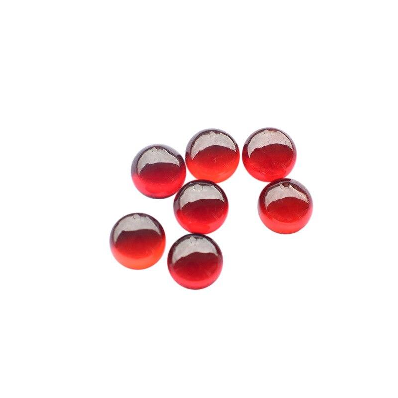 8*8 MM 1.5 Ct Round Cut Natural Loose Gemstones  5A Emerald Gem Wholesale Lot
