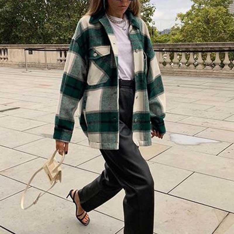 Купить куртка gypsylady женская в клетку утепленная классическая рубашка