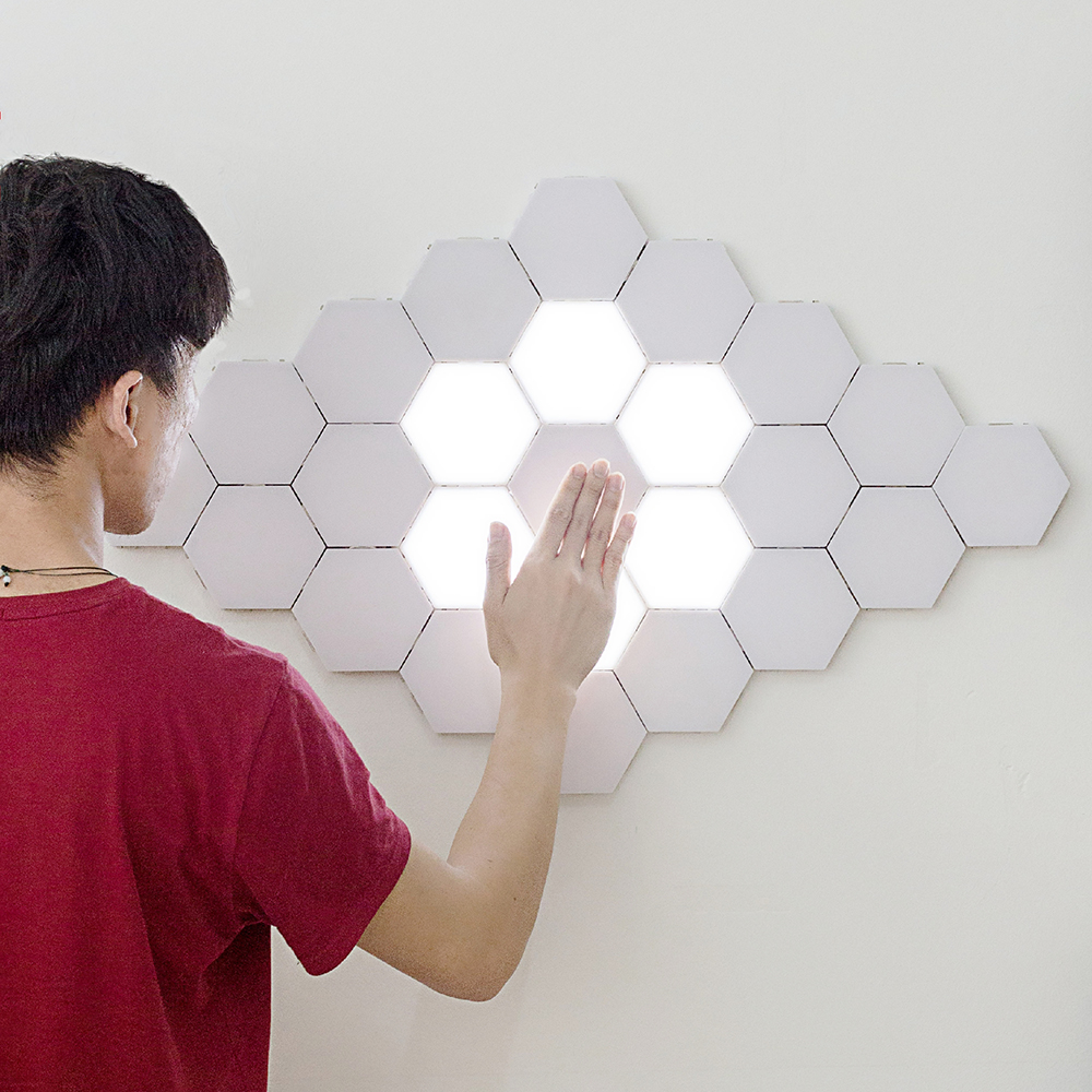 Nordic LED Night Light Quantum Lamp Helios Touch Modular Sensitive Lighting Home Decorative Bedroom Bedside Magnetic Lighting