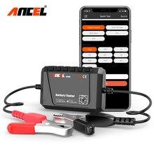 ANCEL BT500 جهاز اختبار بطارية السيارة بلوتوث 12 فولت سيارة الدائرة الكهربائية التحريك تحميل اختبار محلل شحن اختبار لنظام أندرويد/IOS