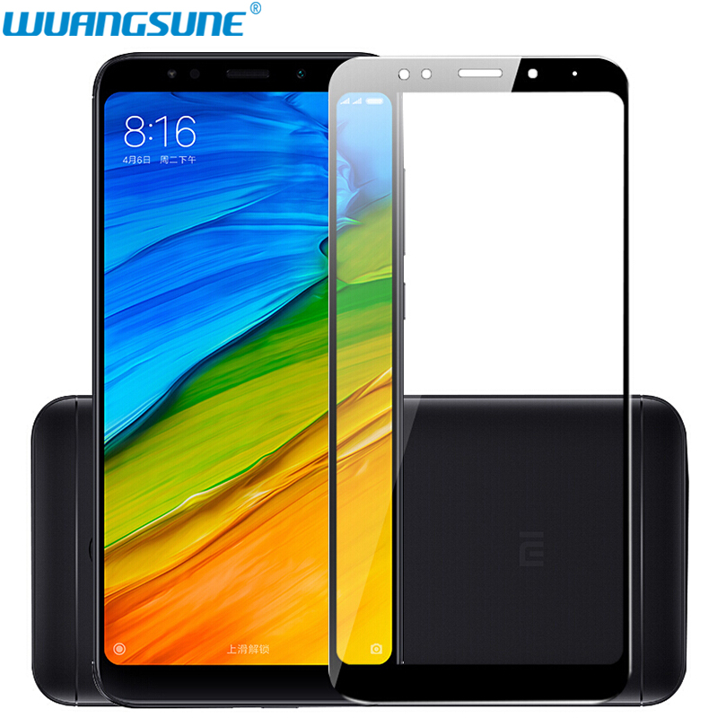 For Xiaomi Redmi 5 Glass Tempered Full Cover Prime Screen Protector For Redmi 5 Plus Note5Pro Mobile Phone Protective Glass Film