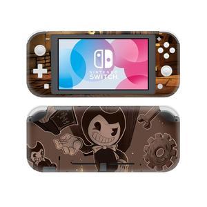 Image 2 - Bendy e a máquina de tinta adesivo de pele decalque para nintendo switch lite console protector joy con nintend switch lite adesivo de pele